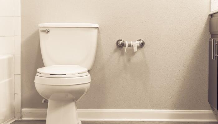 トイレと無くなったトイレットペーパー